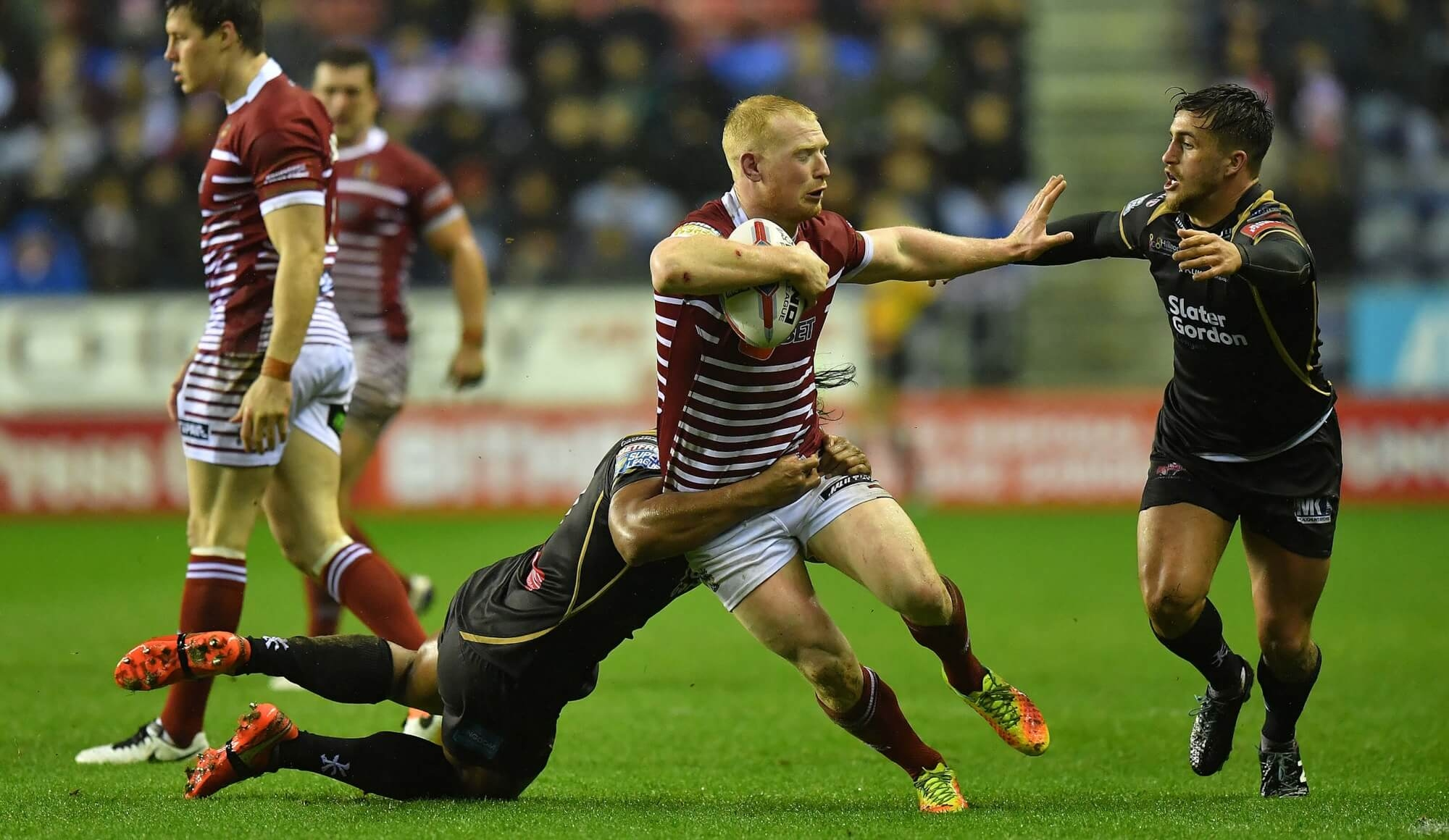 Wigan 20 Leigh 0