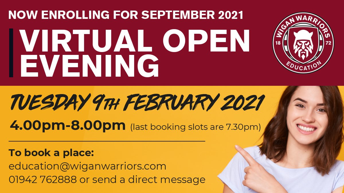 Feb 9th Open Evening