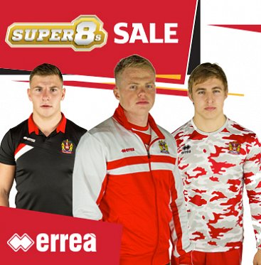 Super 8s Shop Sale