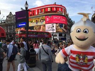 Max at Piccadilly Circus