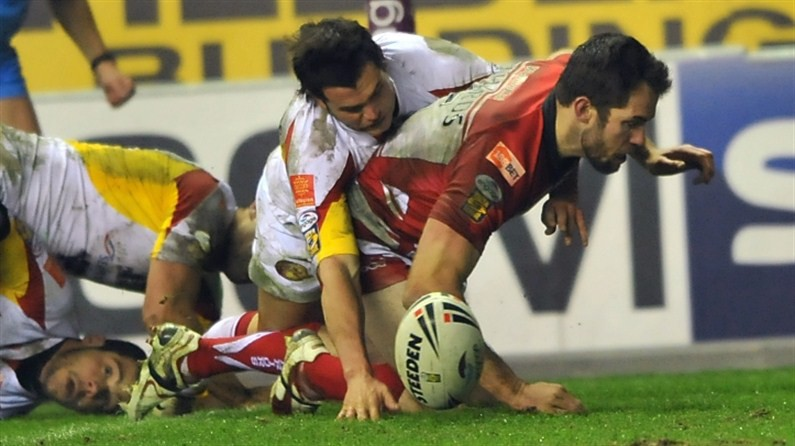 Wigan Romp To Victory In 10 Try Display