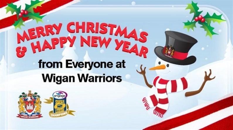 merry xmas news wigan warriors
