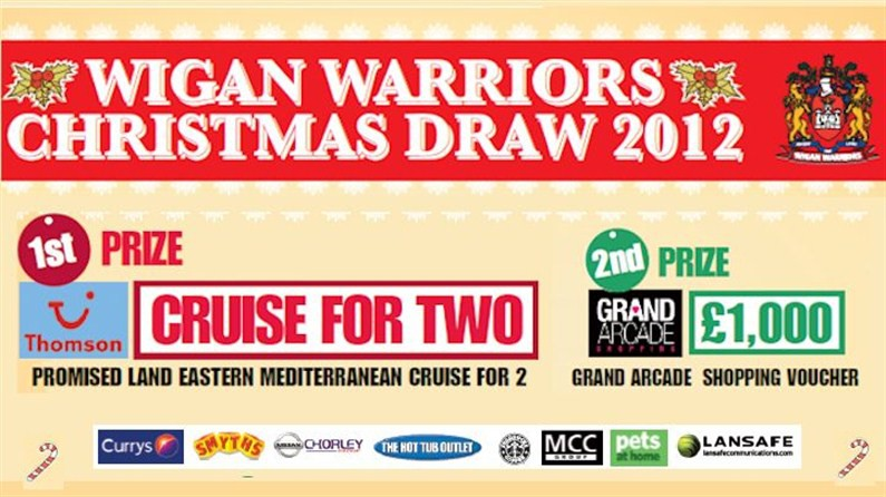 Warriors Christmas Draw