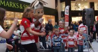 Warriors Roadshow Returns to Grand Arcade