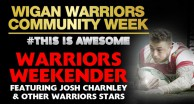 Warriors Weekender with Josh Charnley