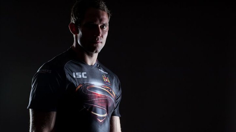 Wigan Warriors Man of Steel Limited Edition Shirt Details