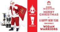 Merry Christmas from Wigan Warriors