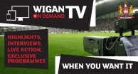 Workington Game Live on Wigan TV