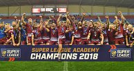 U19s crowned Super League Academy Champions