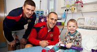 Warriors Visit Rainbow Ward