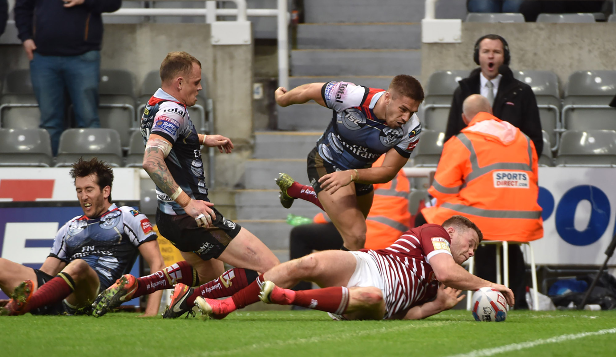 Wigan 24 Warrington 24