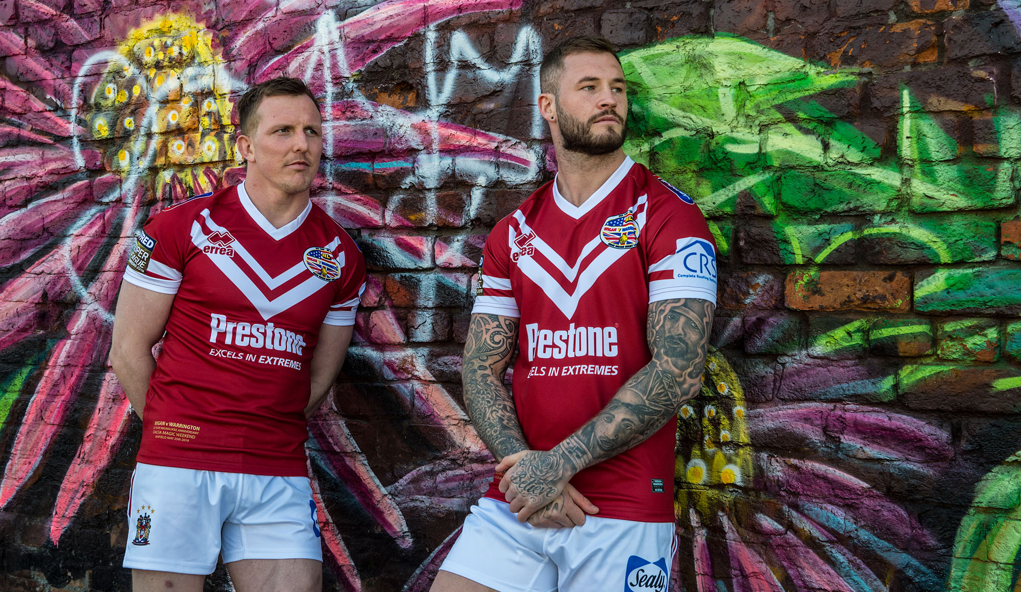 Wigan Launch Dacia Magic Shirt