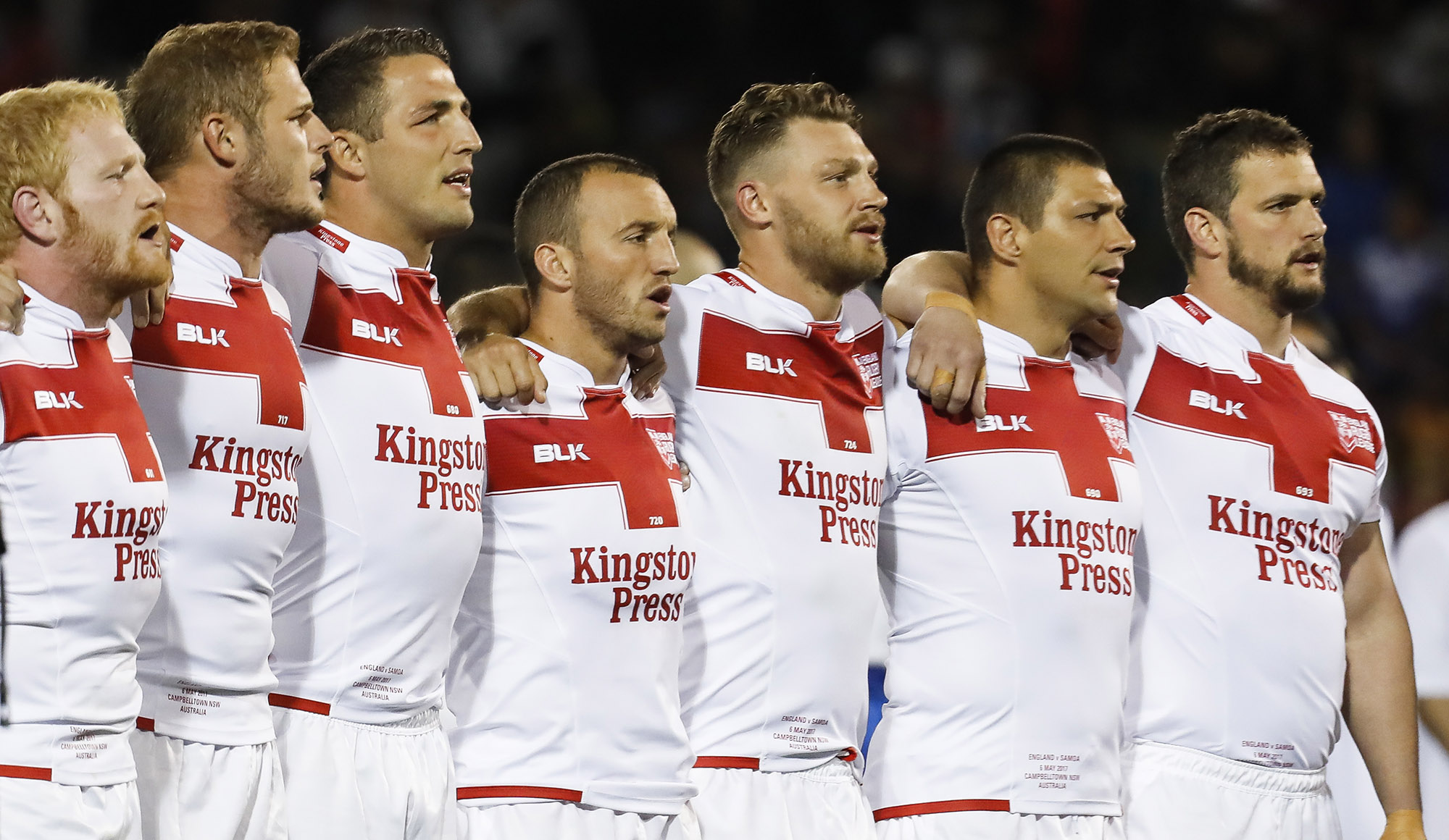 Five Named in England Squad
