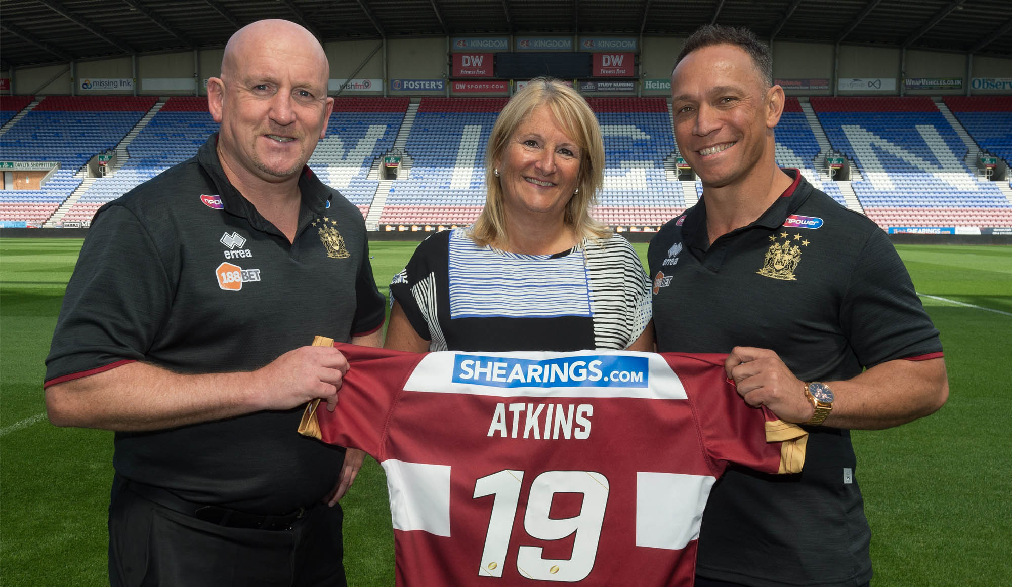 Shearings to continue Wigan backing