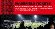 Wakefield away tickets