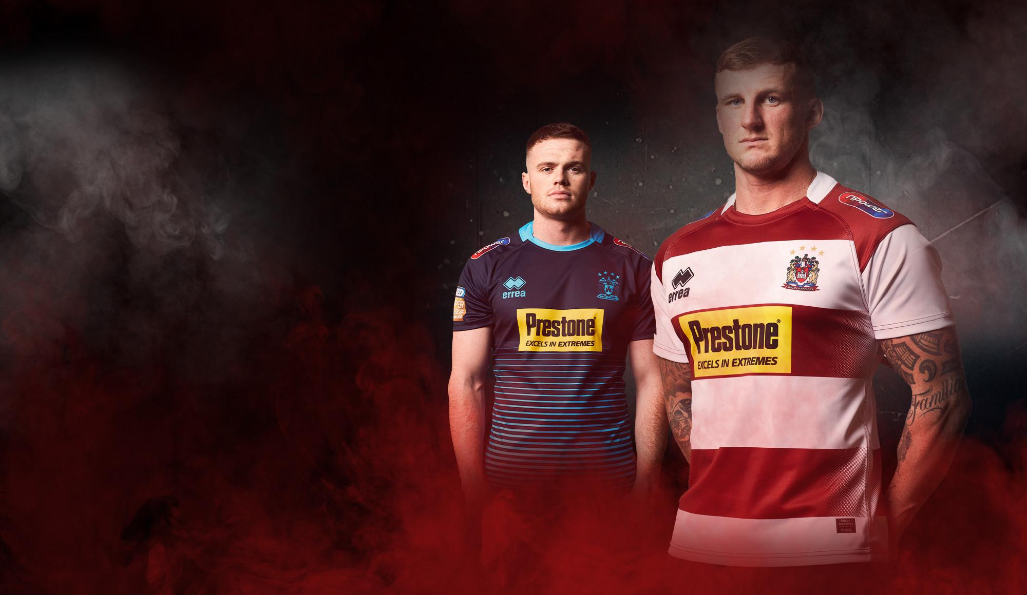 brand new 5ab40 d6006 Warriors release 2019 kits | News | Wigan Warriors