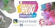 Land of Beds partner 2018 Colour Run