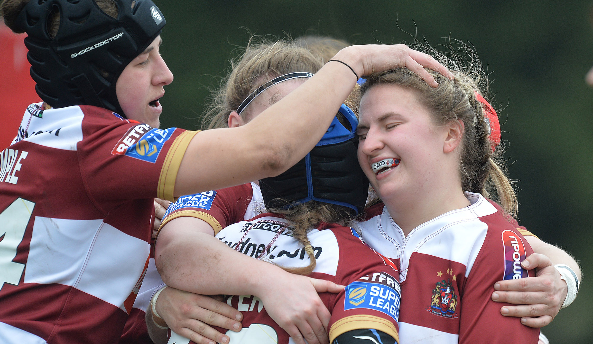 Wigan Women bow out at semi final stage