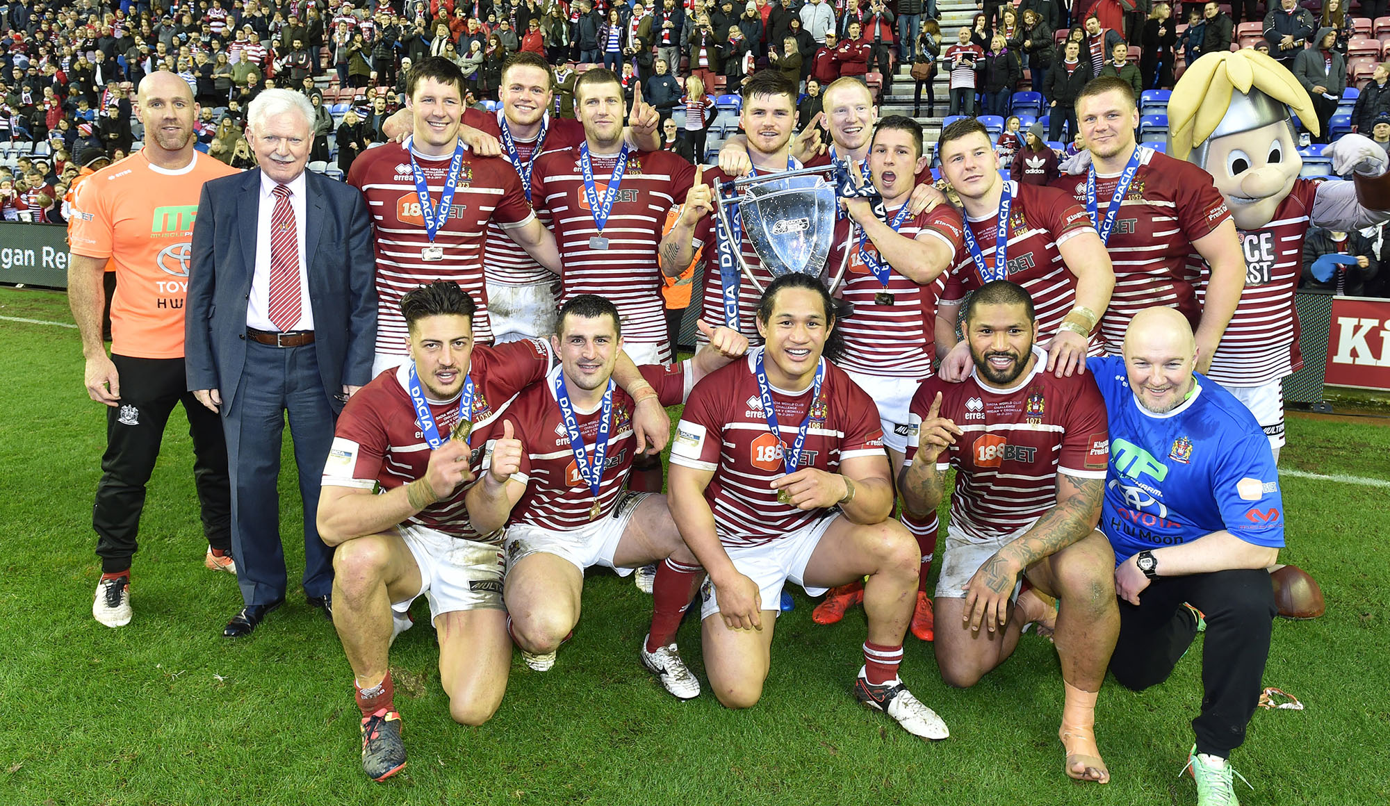 World Champions Discount News Wigan Warriors