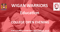Warriors Education Open Evening