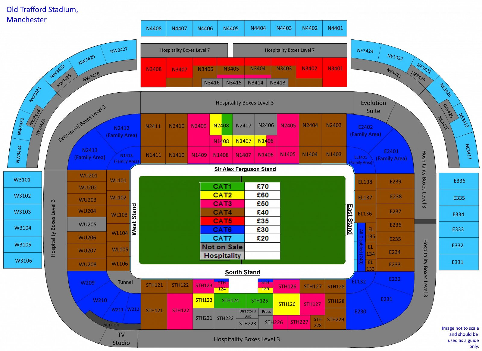 Pin Seating Plan At Old Trafford On Pinterest