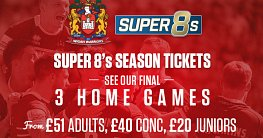Super 8s Season Tickets