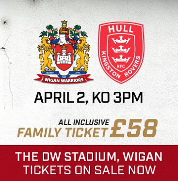 Warriors v Hull KR