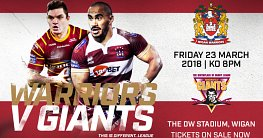 Warriors v Giants