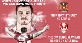 Wigan v Saints