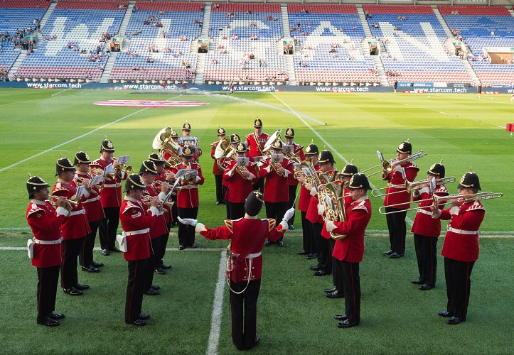 Images from Wigan's 2018 Armed Forces celebration.