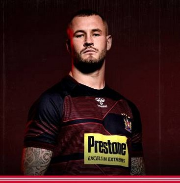 Wigan Warriors 2020 Away Kit