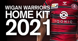 Wigan Warriors Home Kit 2021