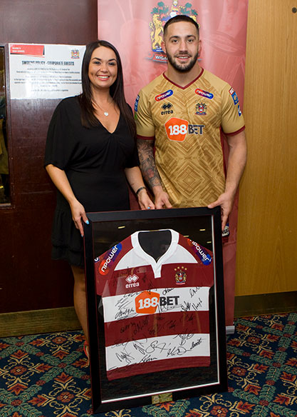 Wigan Warriors Matchday Sponsor
